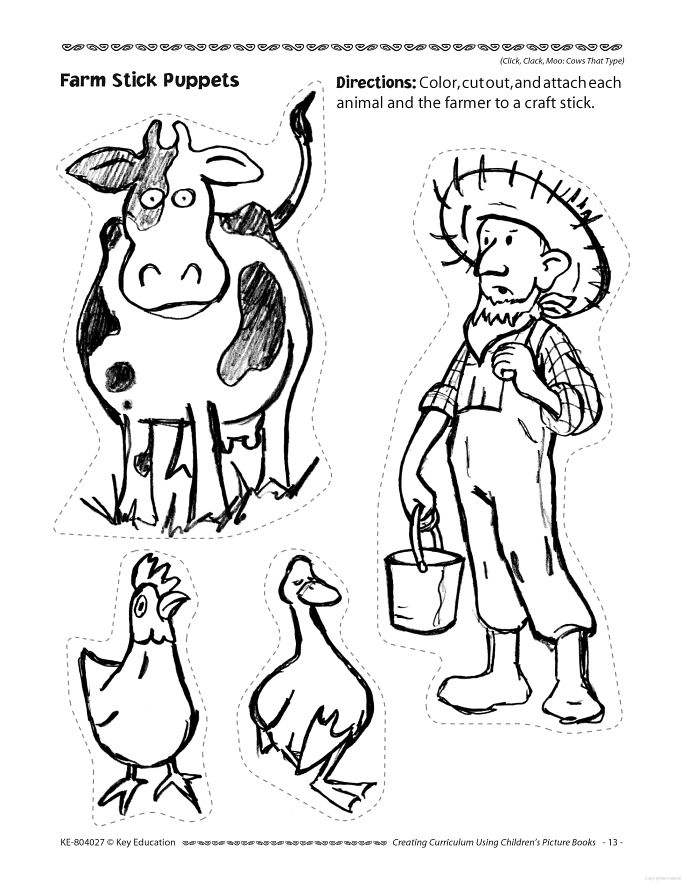 Click Clack Moo Activities Journeys Second Grade Pinterest Click Clack Moo Cows That Type Coloring Pages