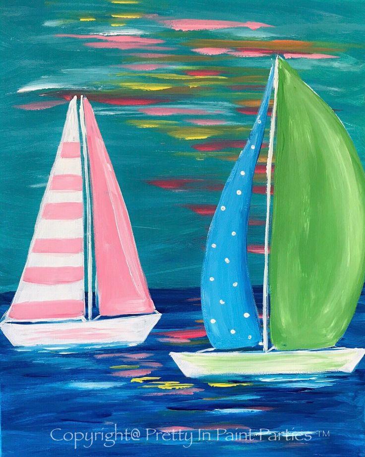 """Lilly's Sails"" Artist: Erica Bridges"