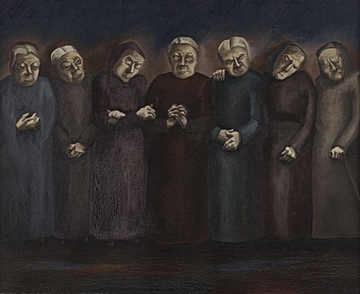 Trauernde Frauen - Hannah Höch