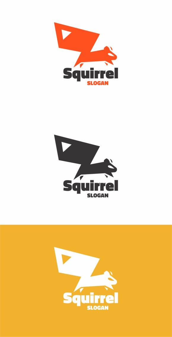 Best Squirrel Logo Graphic Images On Pinterest Draw - The most iconic logos of the 20th century showcased in an extremely creative animation