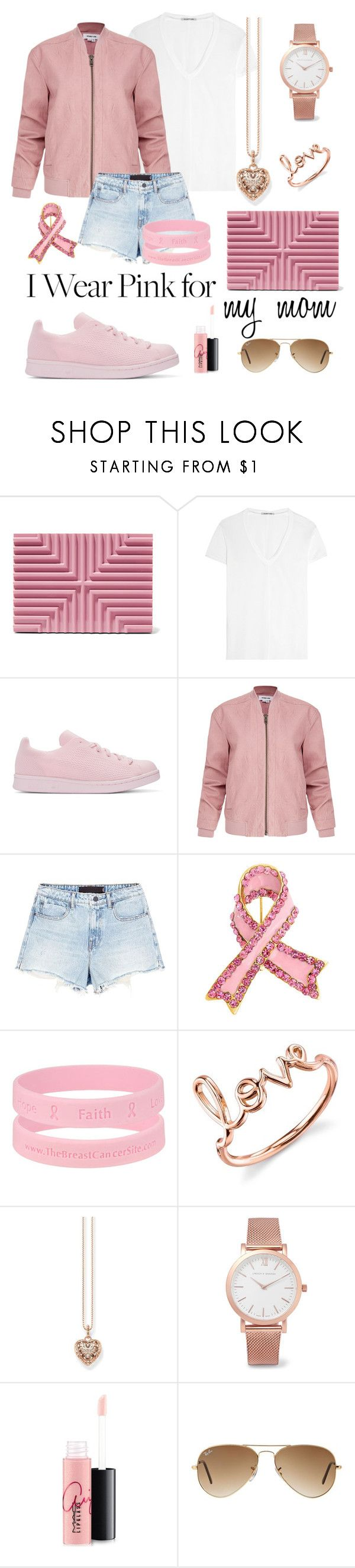 """Love sneakers"" by lomozui ❤ liked on Polyvore featuring Lee Savage, Helmut Lang, adidas Originals, Alexander Wang, Bling Jewelry, Sydney Evan, Thomas Sabo, Larsson & Jennings, MAC Cosmetics and Ray-Ban"
