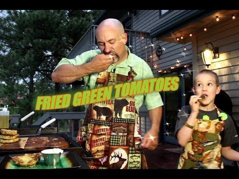 Fried Green Tomatoes On The Blackstone Griddle - YouTube