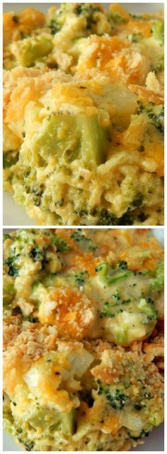 Cheesy Broccoli Casserole ~ Easy to prepare, tastes delicious and is a crowd pleaser... The perfect side dish to any meal.
