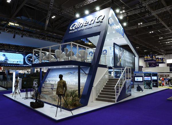 QinetiQ Exhibition Stand on Behance