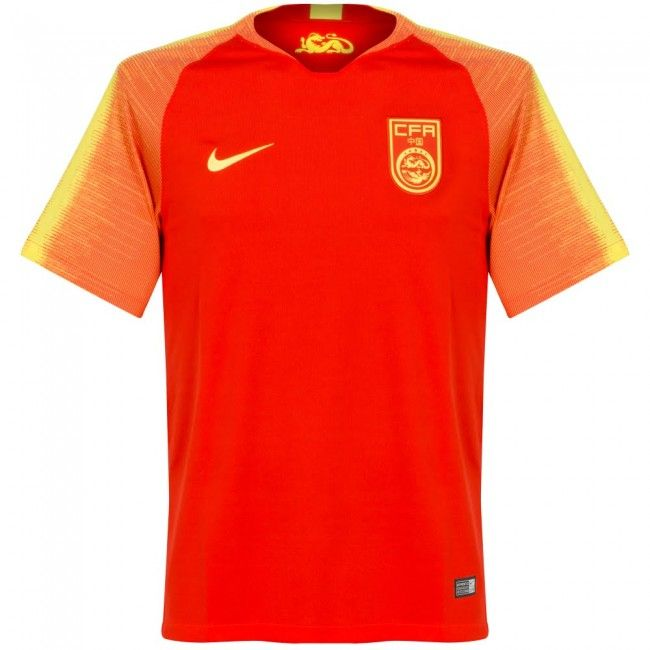 Camiseta de China 2018-2019 Local  china  chine  football  shirt  jersey   remera  camiseta  playera  casaca  maglia  maillot d673c3bfb
