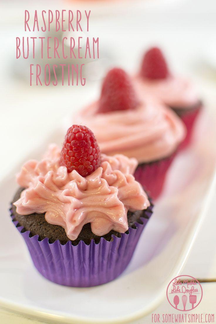 raspberry buttercream