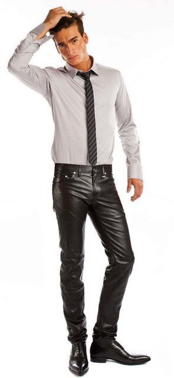 Some men's leather pants have detailed stitching that gives them a particularly distinctive look, while others are plain or have painted patterns to suit your preference. If you opt for men's leather motorcycle pants, you get padded shins and thighs for that extra protection when you are riding.