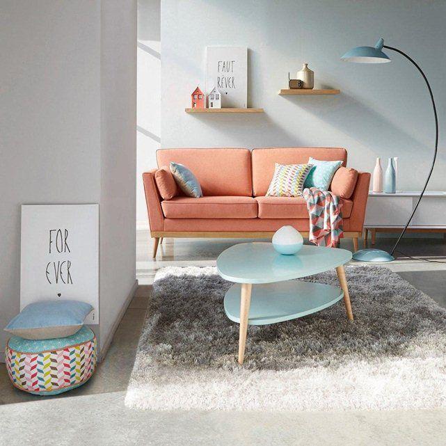 Table basse vintage double plateau, Jimi La Redoute Interieurs   La Redoute Mobile