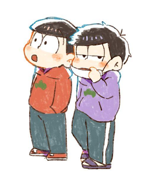 おそ松さん  Osomatsu-san「おそ松ログ③」/「くり」の漫画 [pixiv]   おそ松&一松