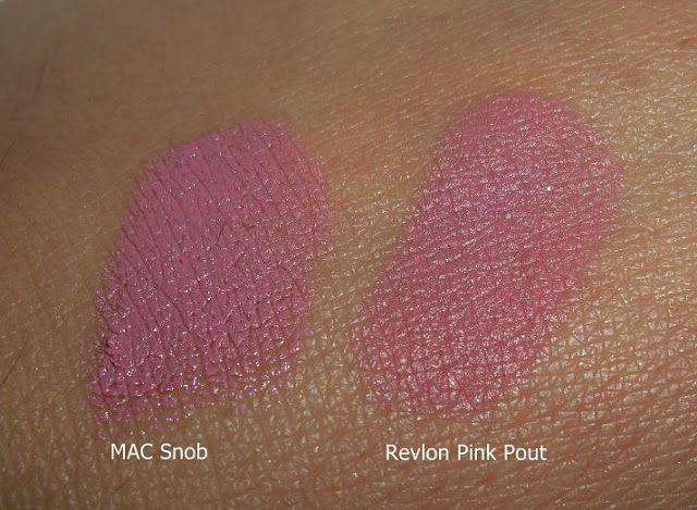 MAC Snob vs Revlon Pink Pout |Makeup and Macaroons