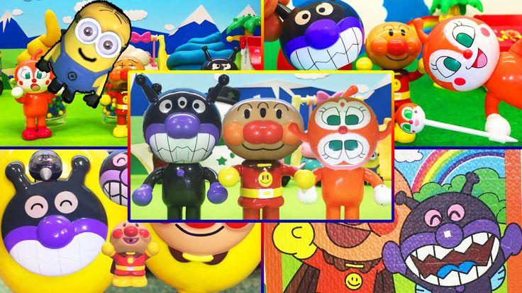 アンパンマンおもちゃアニメ❤2015年12月 人気動画ランキングだよ! Anpanman Toys Animation