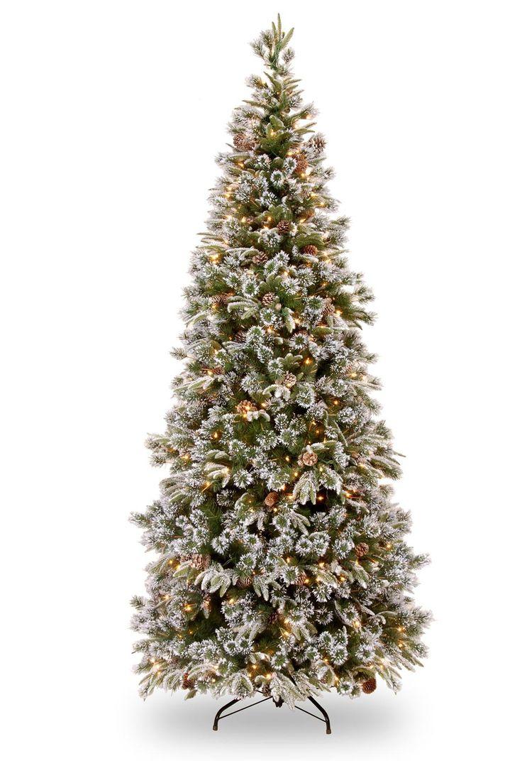 7Ft Slim Pre-Lit Christmas Trees - Bing Images