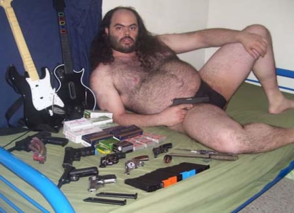 Ladies. Form and orderly line please.: This Man, Good Ideas, A Real Man, Guns Control, Funny Stuff, Guitar Heroes, Wtf, Photo, Russell Branding