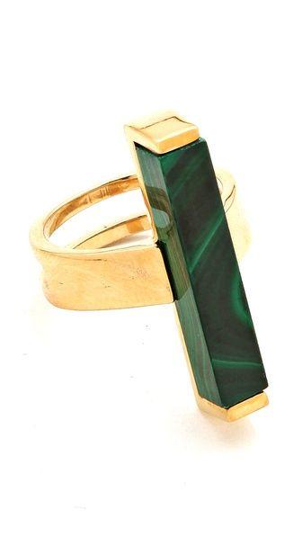 Kelly Wearstler Stone Rod Ring ShopBop