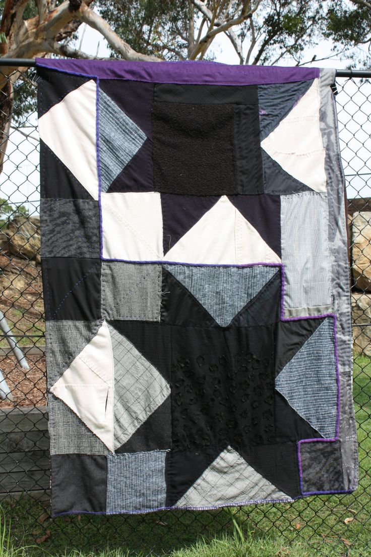 'Wagga star' modern quilt by Jess Wheelahan, from creative bug tutorial by Kathy Doughty.