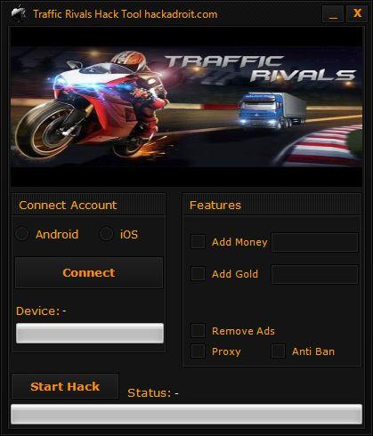 Traffic Rivals Hack Tool