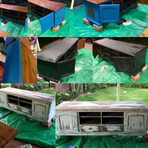 Porters Chalk Emulsion Furniture Transformation