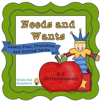 Worksheets Needs And Wants Worksheet Cut And Paste 1000 images about worksheets on pinterest letters words and book this is a needs wants unit that includes three day lesson plan color