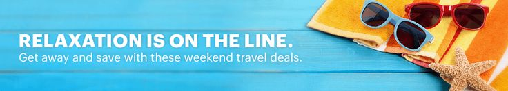 Great deals on cheap flights for weekend getaways at priceline.com.