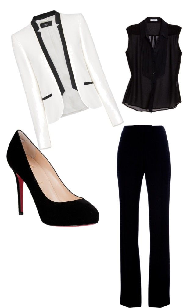 """Corporate Chic: Statement Blazer"" by a-altman on Polyvore"