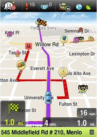 Waze Travel App (iPhone / Android) THE BEST! Android