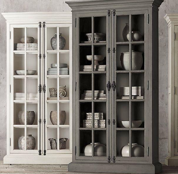 17 best ideas about restoration hardware on pinterest restoration hardware lamps restoration - Restoration hardware cabinets ...