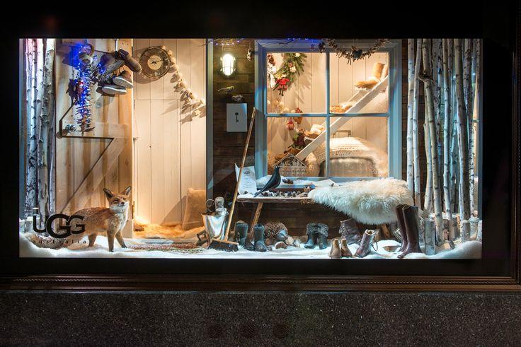Harrods Christmas Windows, 2014 | UGG by Millington Associates | Holiday Windows