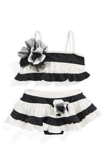 Isobella & Chloe 'Sparkling Tide' Two-Piece Swimsuit (Toddler Girls) available at #Nordstrom
