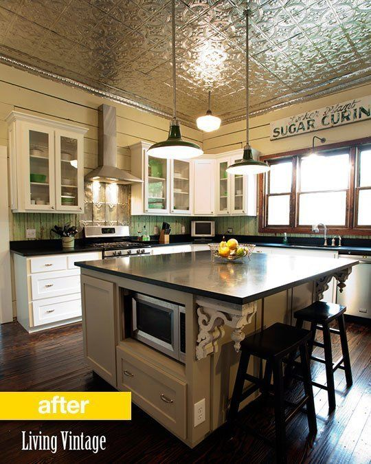 "Kitchen Before & After: A Vintage Kitchen Gets a ""New Vintage"" Look — Reader Kitchen Remodel"