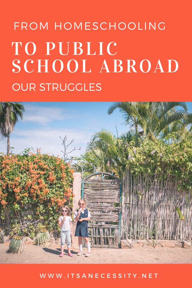 Putting your kids in school while travelling can be quite the learning curve. Here is what we are dealing with. | homeschooling | public school | schools abroad | international school | travel kids school | struggles with school |