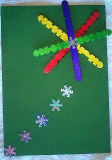 Maro's kindergarten: Christmas cards    Ιδέες για χριστουγεννιάτικες κάρτες!