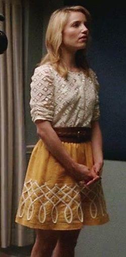 Quinn Fabray in Anthropologie #Glee