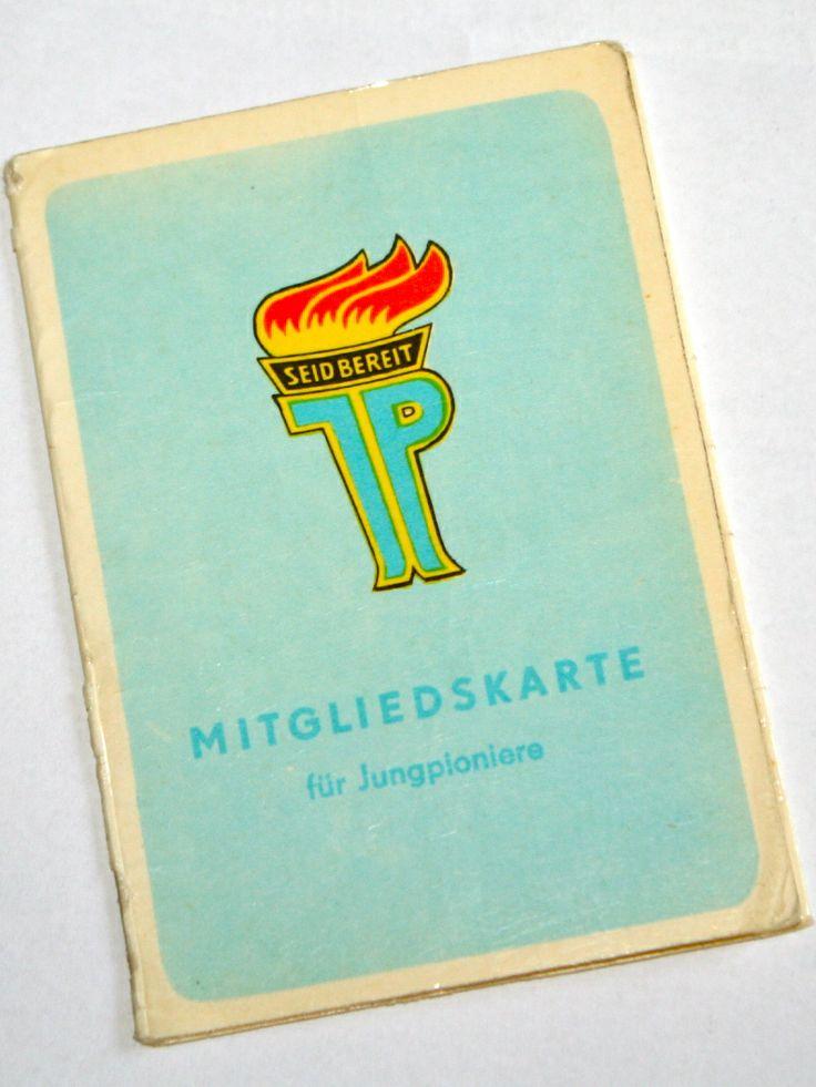 Mitgliedsausweis JUNGPIONIER – C FRIEDRICH
