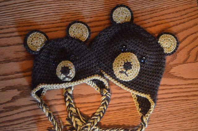 Crochet Patterns Galore - Baby Bear Hat