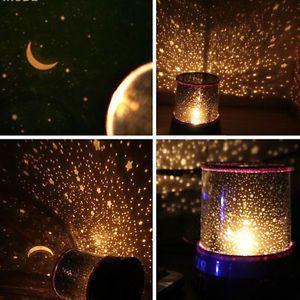 Baby Kinder LED Lampe Sternenlicht Nachtlicht Einschlafhilfe Schlummerlicht