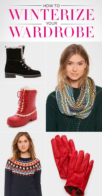 How to Winterize Your Wardrobe