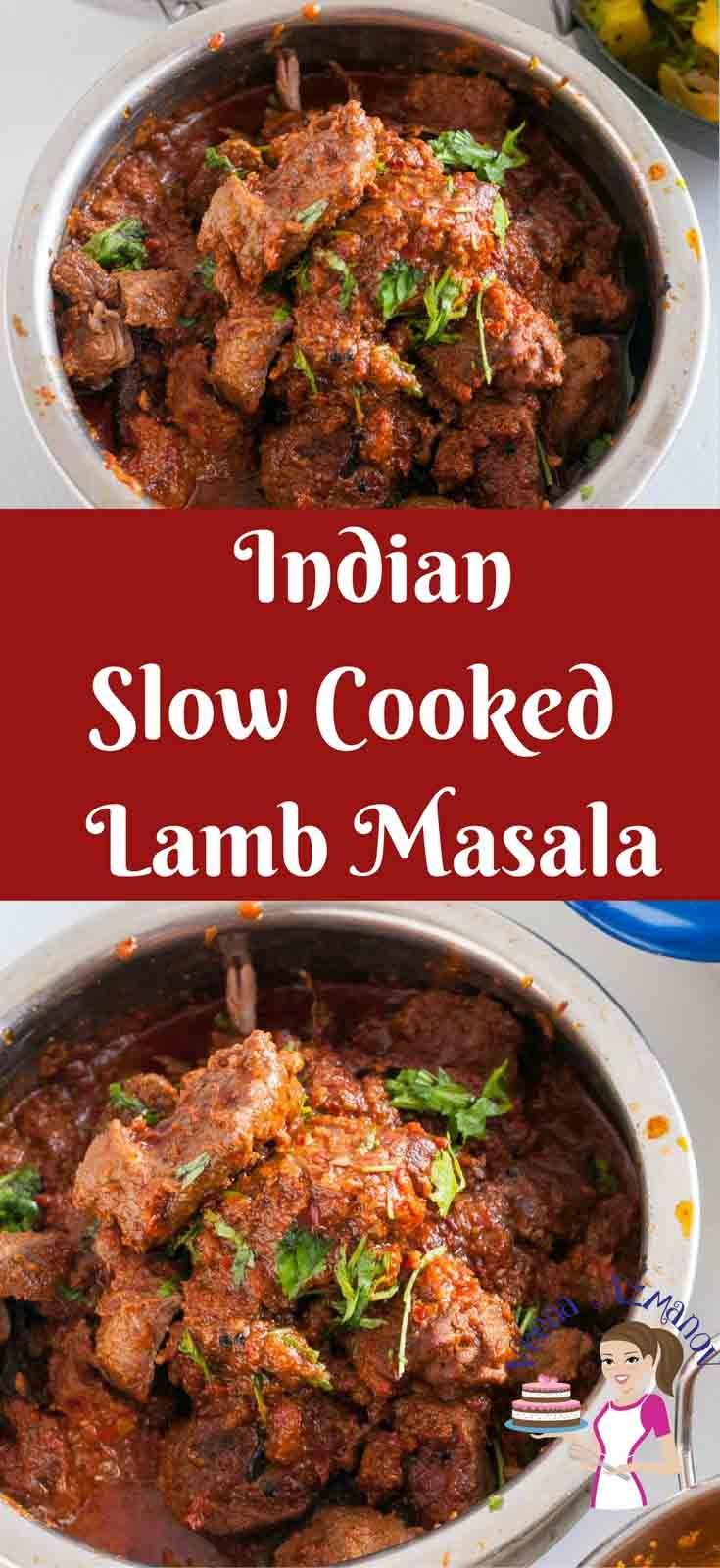 Lamb Masala Also Called Mutton Masala Is A Classic Indian Meat Dish With A Distinct Flavor And Aroma The Pro Slow Cooked Lamb Lamb Curry Recipes Curry Recipes
