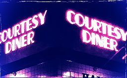 Courtesy Diner St. Louis Hampton Avenue South City neon