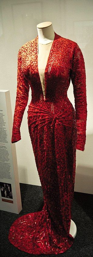 """I love this dress and the film it comes from """"Gentlemen prefer blondes""""!"""