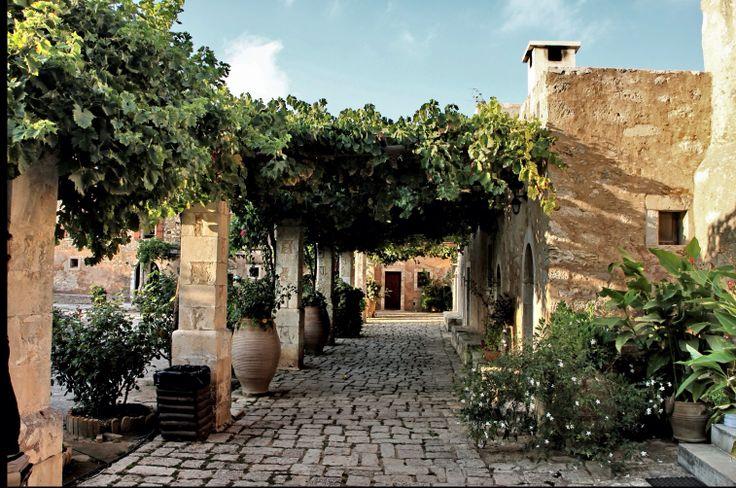 Arkadi monastery Rethimno crete