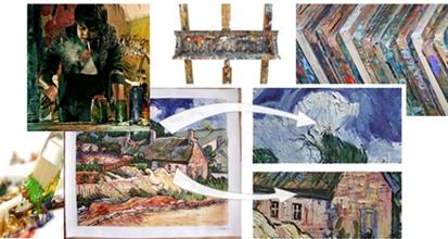 Onze handvervaardigde schilderijen zijn hoogwaardige reproducties,detailgetrouw handwerk penseelstreek voor penseelstreek geschilderd worden en de originelen zeer dicht benaderen. Voor onze schilderijen worden uitsluitend hoog gepigmenteerde olieverven van bekende producenten gebruikt. - http://www.poster-en-kunstdrukken.nl/schilderijen1 - Het sterke, gegrondeerde, katoenen schildersdoek is de beste garantie tegen trekken en vervorming van het doek.