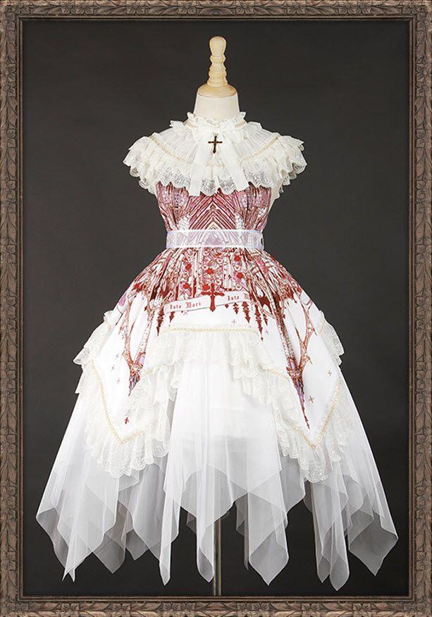 Ista Mori -A Reflection of The Church- Gothic Lolita Jumper Dress