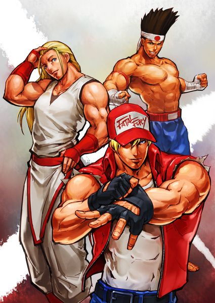 The King of Fighters. Terry Bogard <3