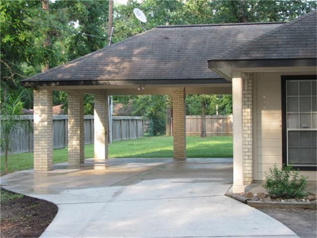 Porte cochere for parking or entertaining garage for What is a porte cochere