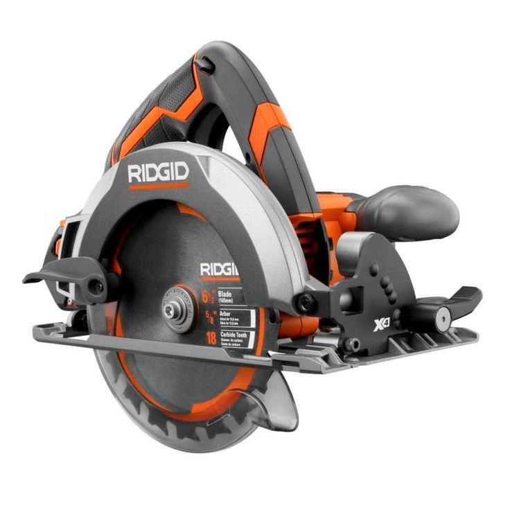 RIDGID X4 18-Volt Cordless Circular Saw Console (Tool Only)-R8651B at The Home Depot