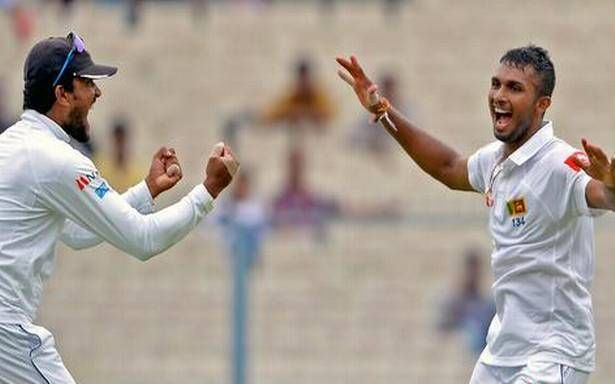 India struggle with five wickets down on second day of first Test