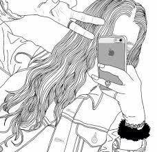 Resultado de imagen para dibujo de una chica tumblr
