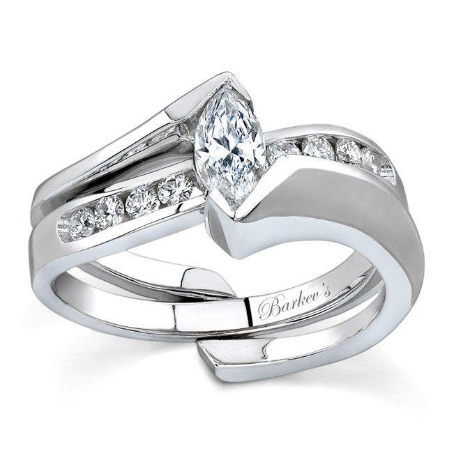 Colored Diamond Wedding Ring