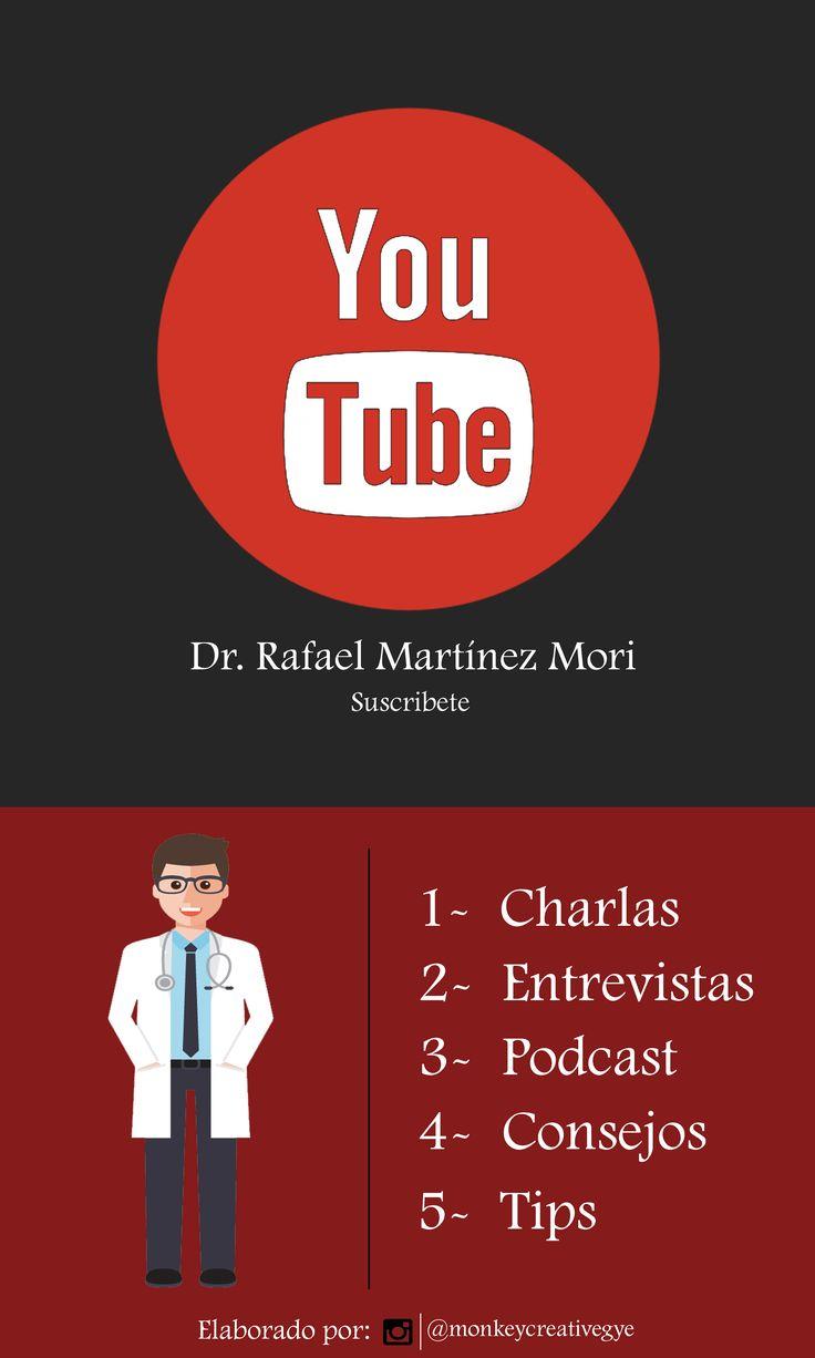 PROMO PARA EL CANAL DE YOUTUBE DEL DR. RAFAEL MARTÍNEZ MORI