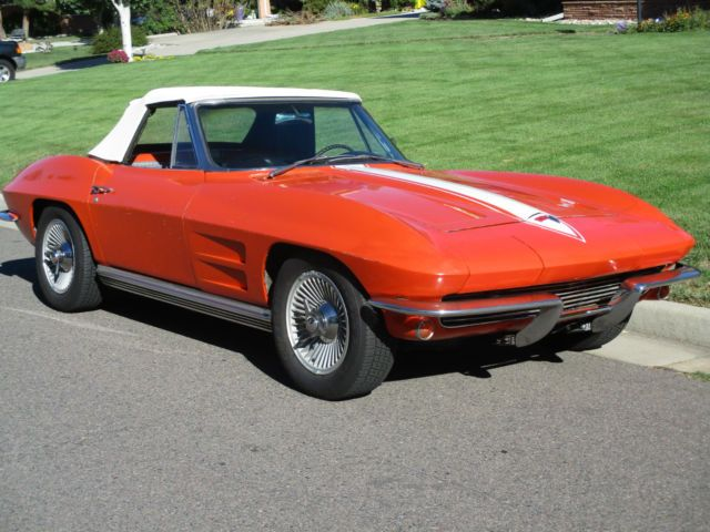 1964 chevrolet corvette convertible 327
